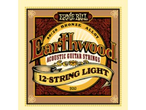 Ernie Ball Earthwood Bronze 12-string Light.009-.046