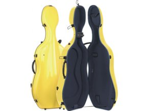 GEWA Cases Cello case Idea Futura Yellow/anthracite