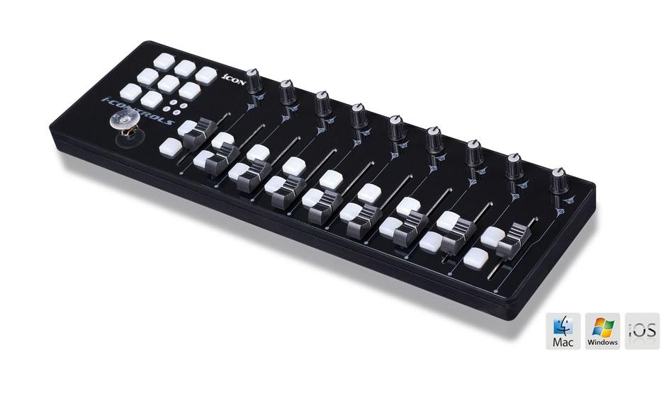 Icon i-Controls black