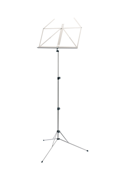 K&M 101 Music stand nickel-colored