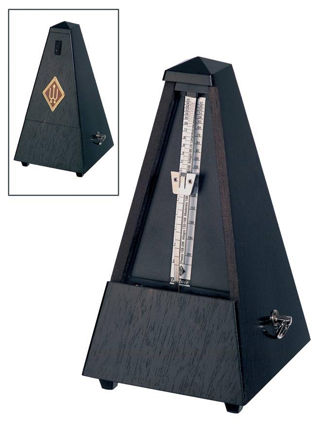 Wittner Metronome Pyramid shape Oak black matt 809