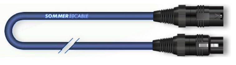 Sommer Cable AES/EBU Binary, Blue, 2,50m