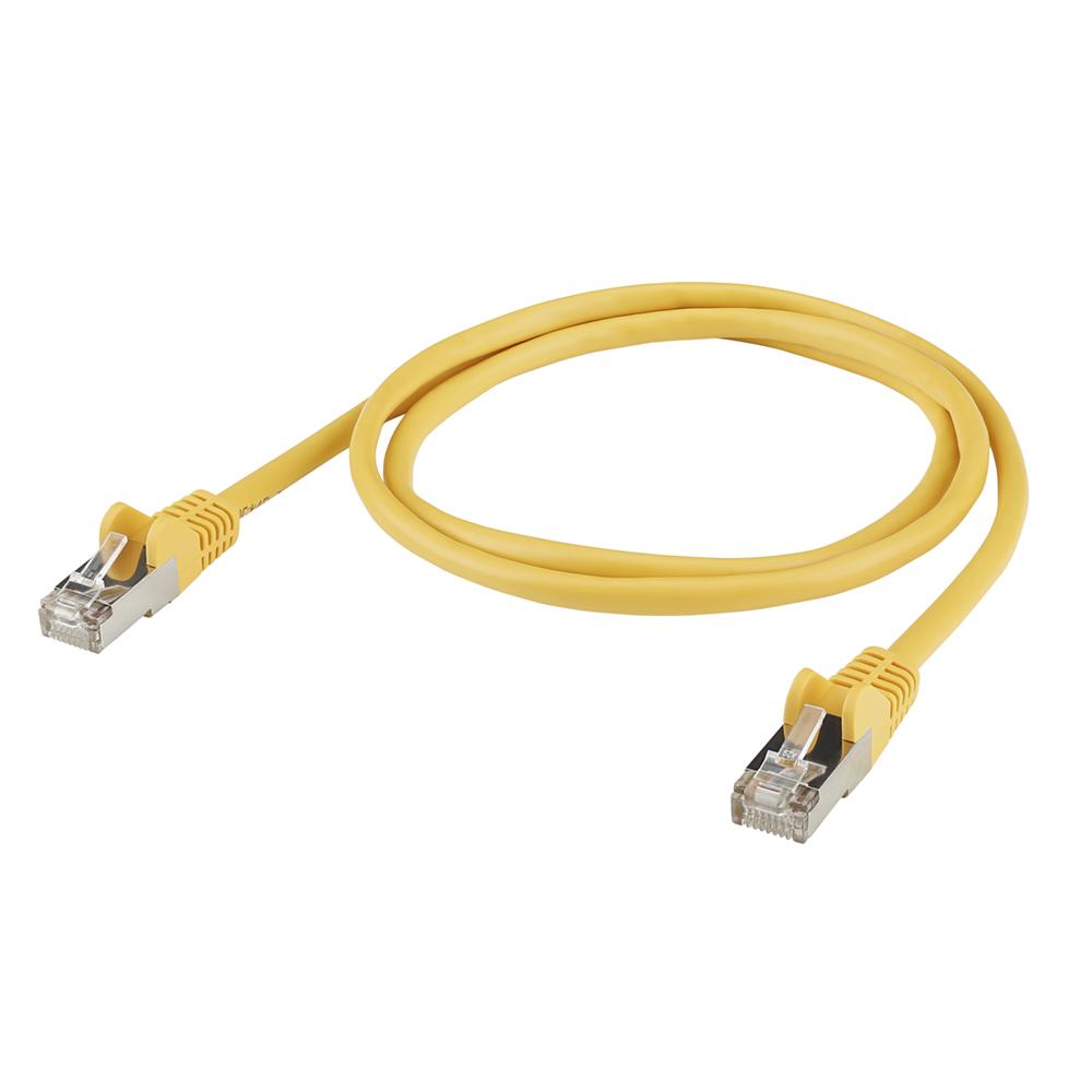 Sommer Cable TPC CAT.5E/BASIC RJ45RJ45 Yellow 10,00m