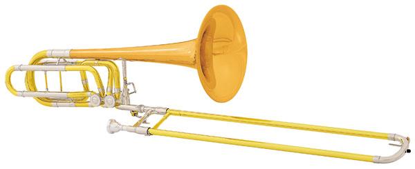 C.G. Conn Bb/F/Gb/D-Bass Trombone 112H Professional 112H