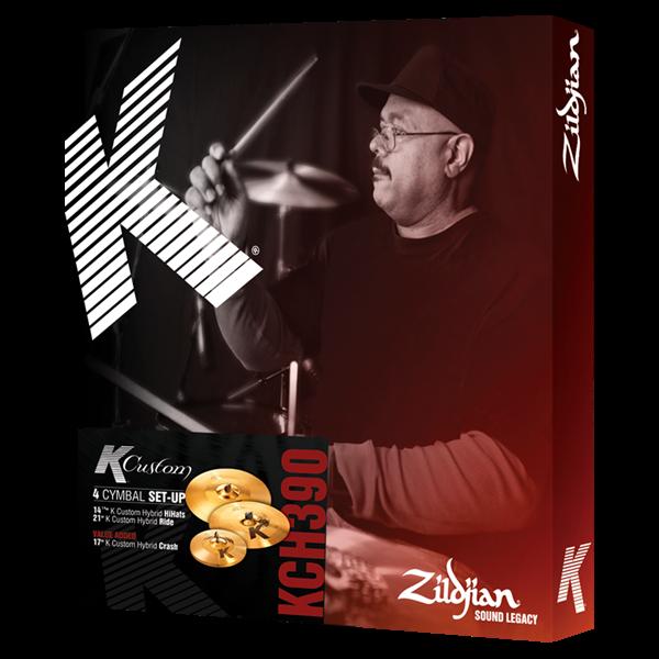 ZILDJIAN K Custom hybrid box set 390