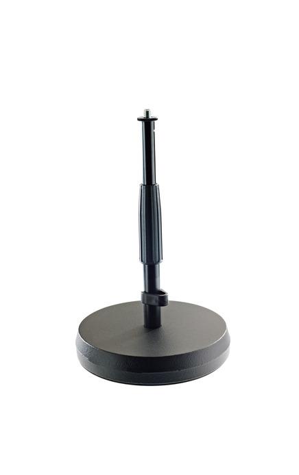 K&M 23325 Table- /Floor microphone stand black