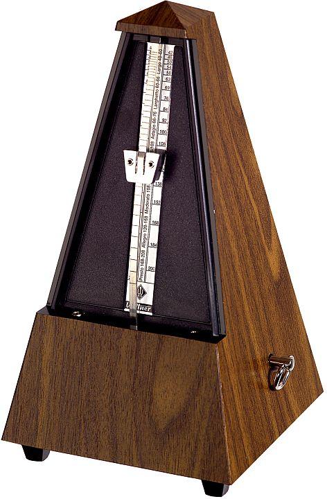 Wittner Metronome Pyramid shape Walnut grain 855131