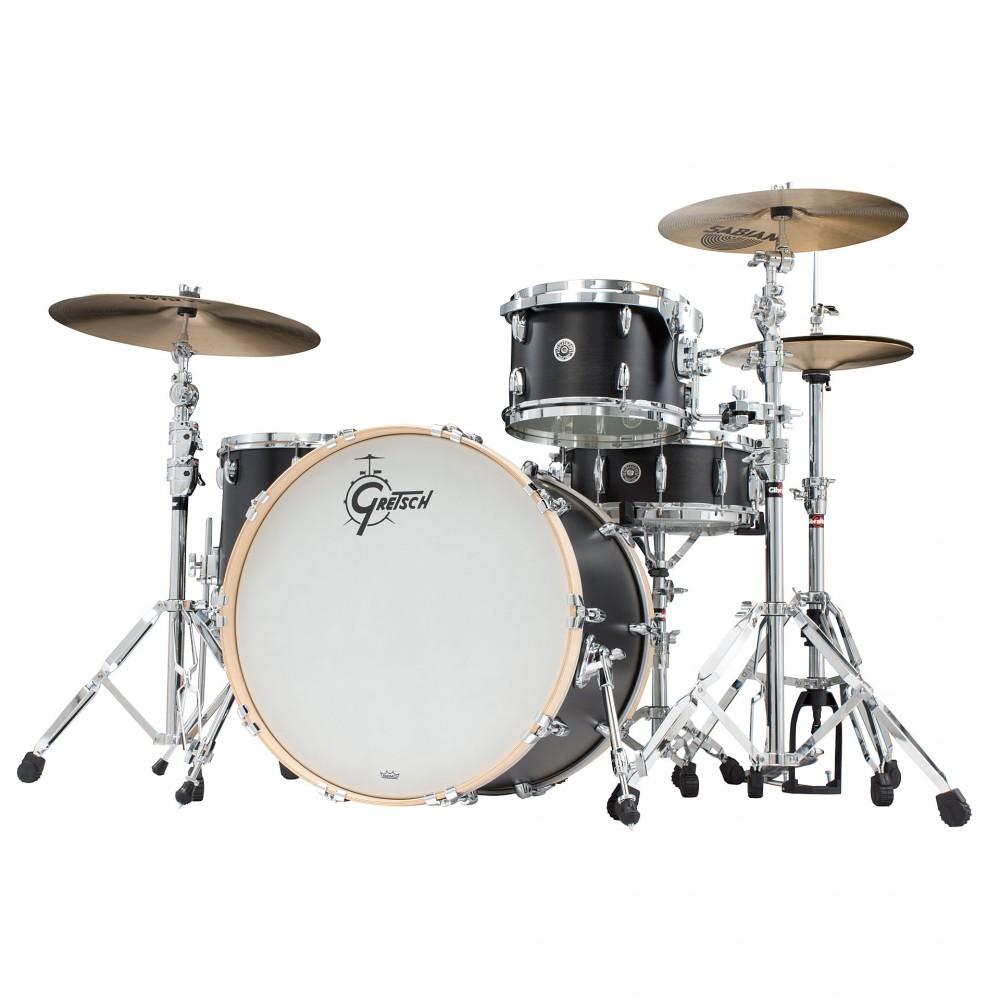 Gretsch drums Gretsch Shellpack Brooklyn Series 13/16/24 Dark Ebony