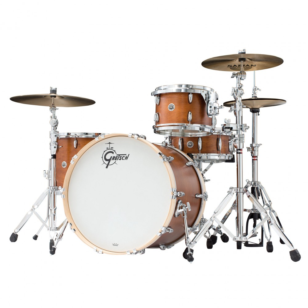 Gretsch drums Gretsch Shellpack Brooklyn Series 13/16/24 Mahogany Stain