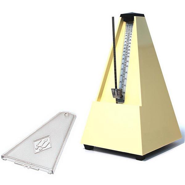 Wittner Metronome Pyramid shape Ivory 817K