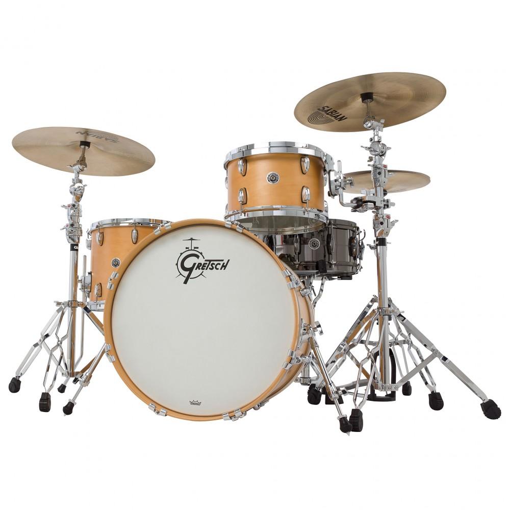 Gretsch drums Gretsch Shellpack Brooklyn Series 13/16/24 Natural Satin