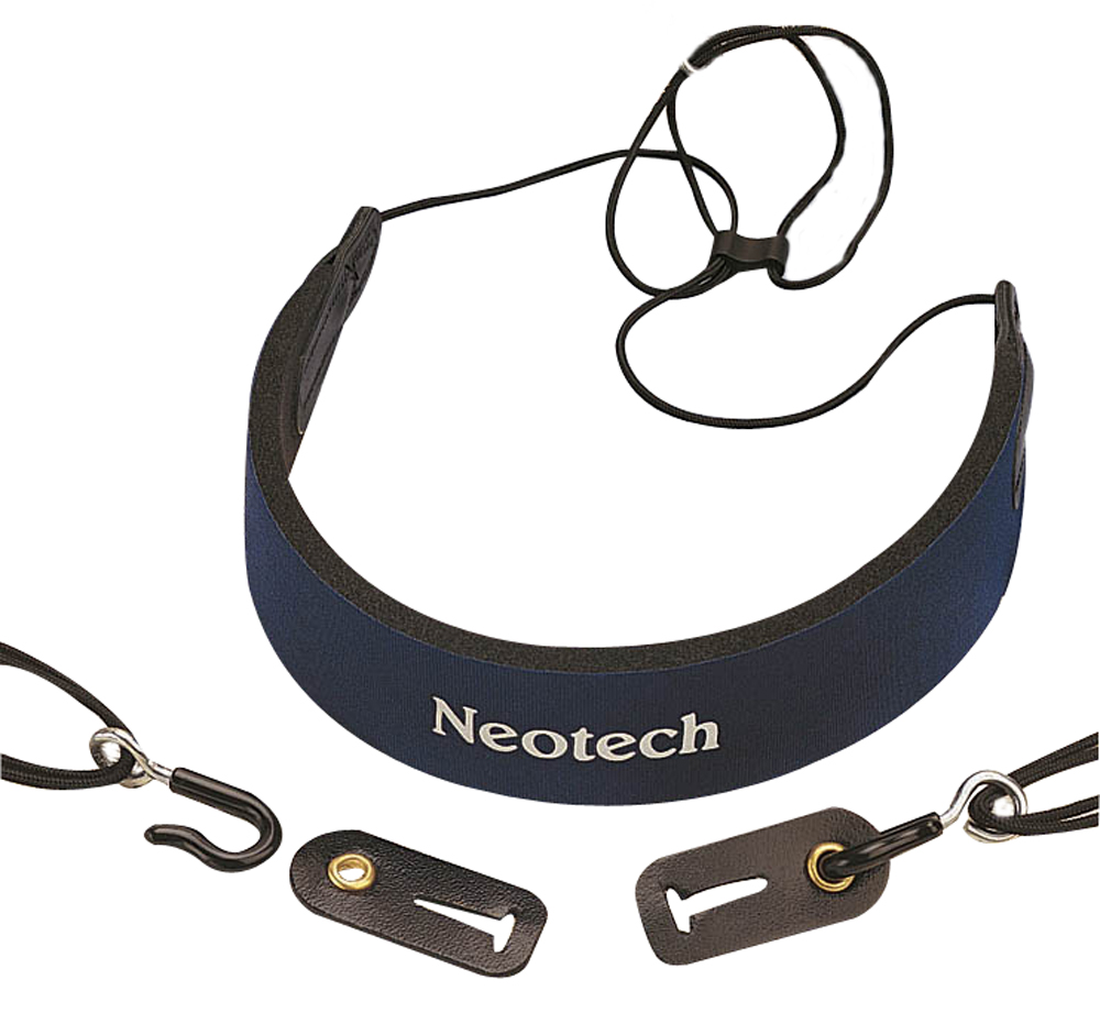 Neotech Clarinet strap C.E.O. Comfort Blue junior, Length 35,6 - 44,4 cm