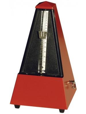 Wittner Metronome Pyramid shape Dark red matt 845201