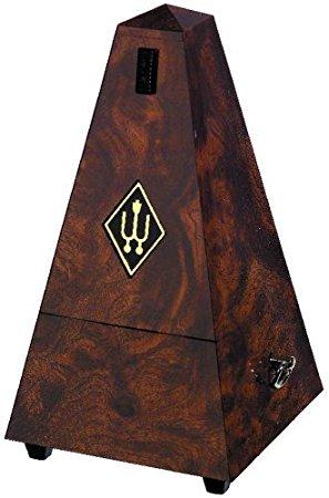 Wittner Metronome Pyramid shape Root wood 855001