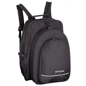 GEWA Cases Case for Clarinets with rucksack Black