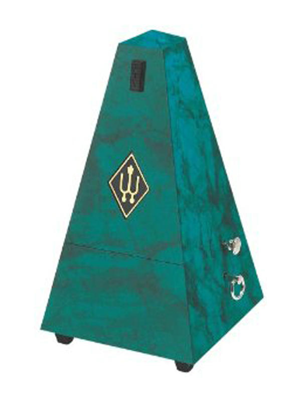 Wittner Metronome Pyramid shape Sapphire green 855105