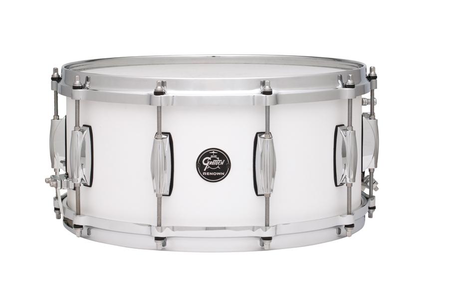 """Gretsch drums Gretsch Snare Renown Maple 6,5x14"""" Satin White"""
