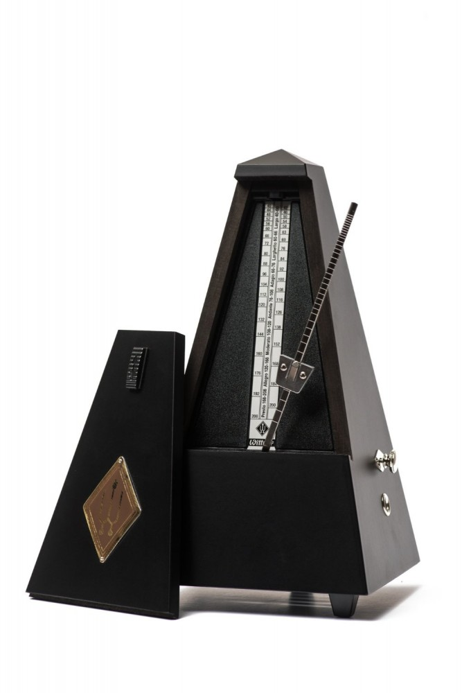 Wittner Metronome Pyramid shape Black. matt 816M