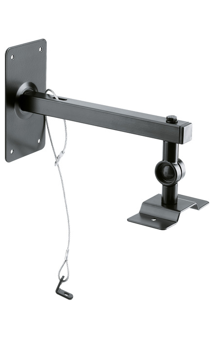 K&M 24195 Speaker wall/ ceiling mount black
