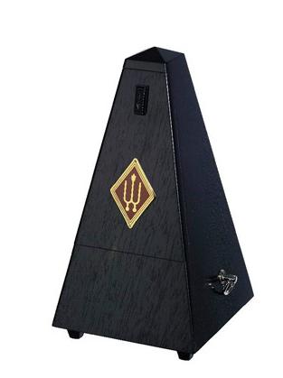 Wittner Metronome Pyramid shape Oak black. matt 819
