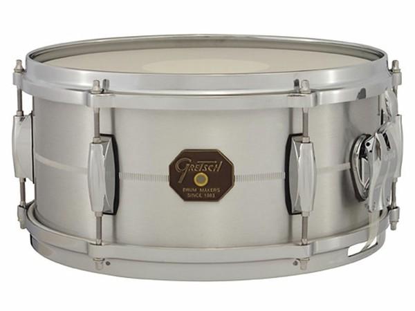 """Gretsch drums Gretsch Snare G4000 Series 6x13"""" Solid Aluminum Shell"""