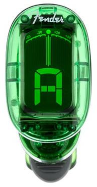 Fender California Series Clip-On Tuner, Green