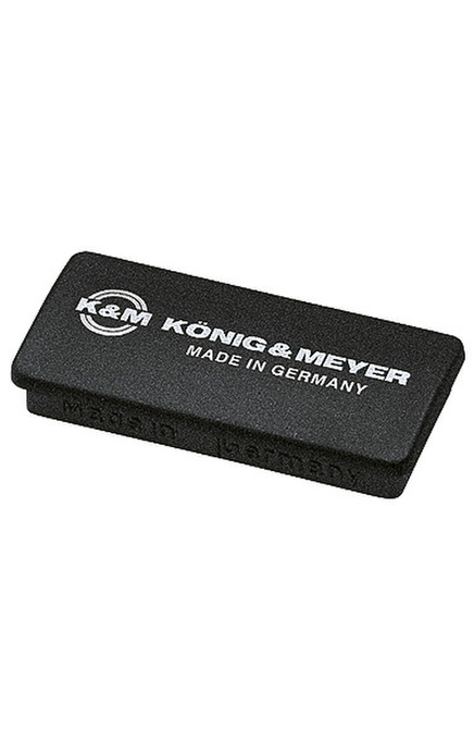 K&M 115/6 Magnet black with K&M logo