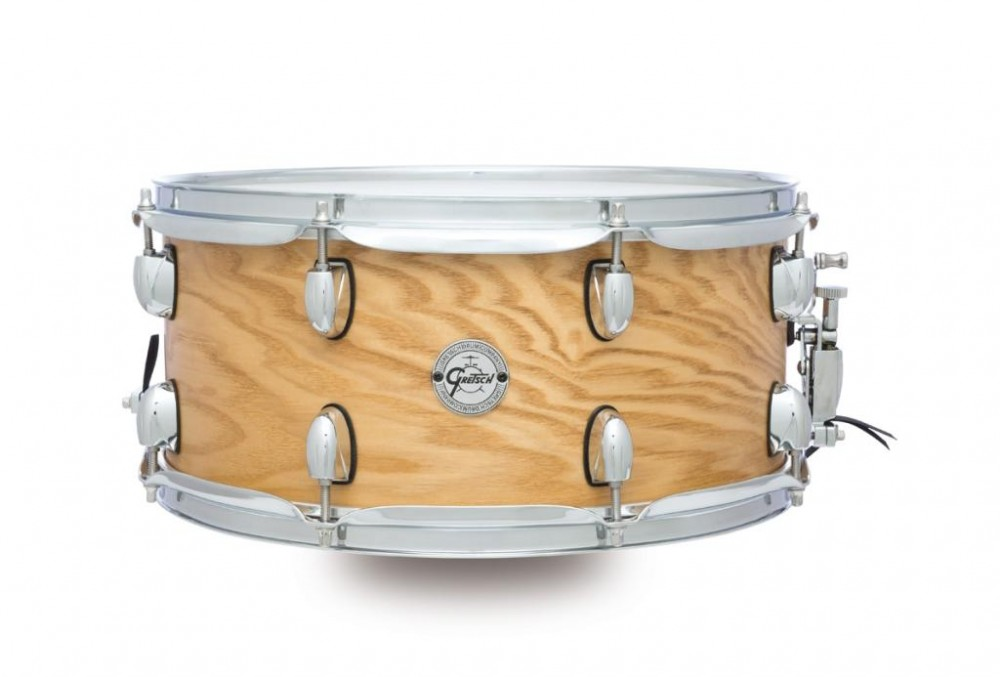 Gretsch drums Gretsch Snare Silver Series 7x13 Ash, Satin Natural