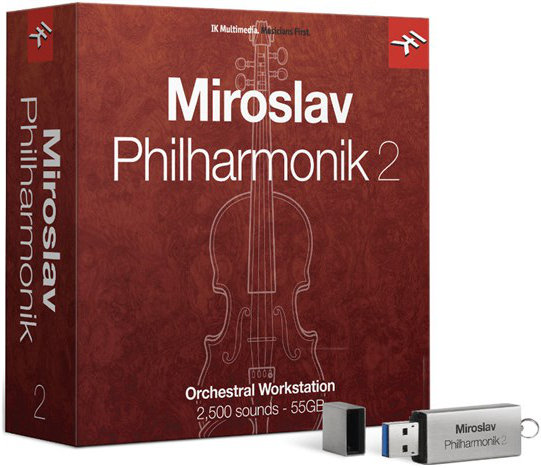 IK Multimedia Miroslav Philharmonik 2 - Upgrade