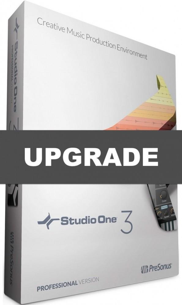 Presonus Studio One 3 Professional Upgrade 1