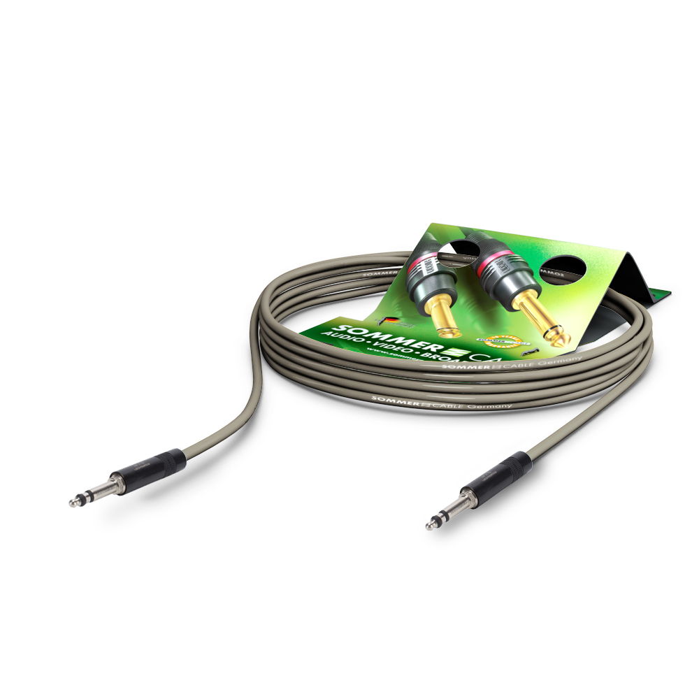 Sommer Cable PC Goblin 2x0,14qmm, Gray, 5,00m