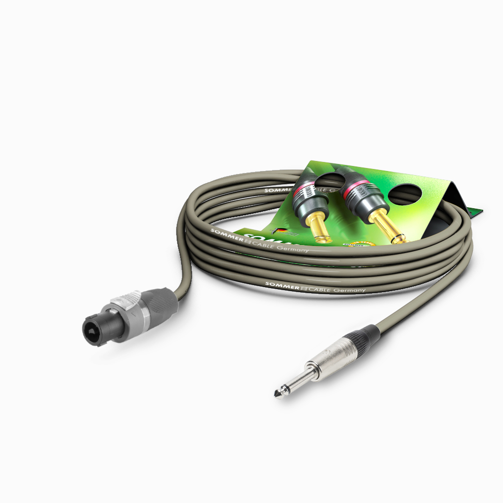 Sommer Cable LS Kabel Meridian PVC 1,00m, Gray