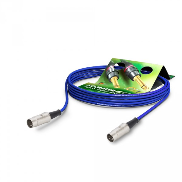 Sommer Cable PC Goblin 2x0,14qmm, Blue, 9,00m