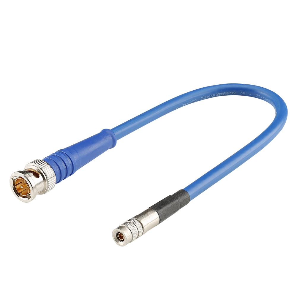 Sommer Cable VTBHR; BNC / DIN; 0,4m; Blue