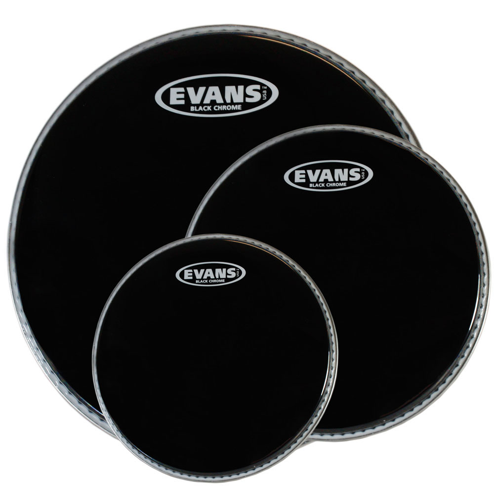 EVANS TOMPACK: BLACK CHROME - RCK