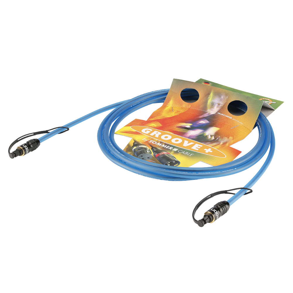 Sommer Cable LWL Kabel Octopus Pur, Blue, 1,00m