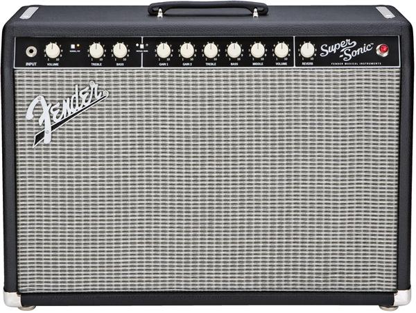 Fender Super-Sonic 22 Combo, Black, 230V EUR