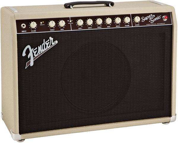 Fender Super-Sonic 22 Combo, Blonde, 230V EUR