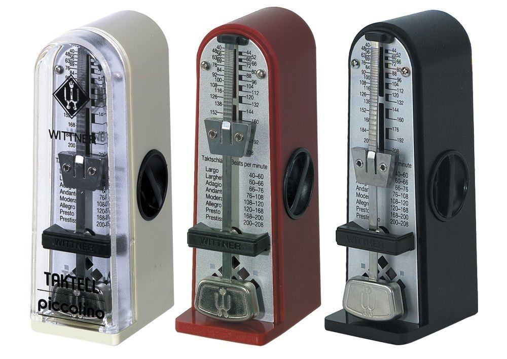 Wittner Metronome Metronome Piccolino Ruby red 890141