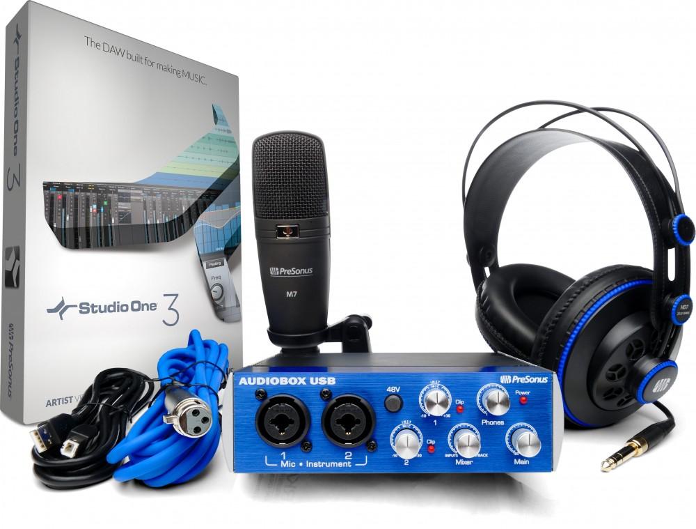 PreSonus Audiobox USB 96 Studio Set