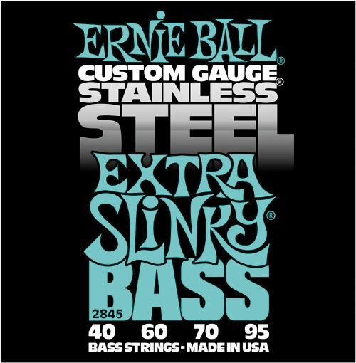 Ernie Ball Stainless Steel Extra.040-.095