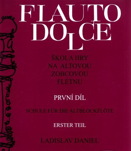 noty Baer Flauto dolce I.diel, Altová flauta - Ladislav Daniel