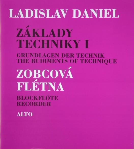 noty Inform Základy techniky I, Zobcová flauta - Ladislav Daniel