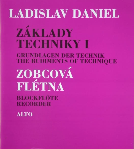 noty Inform Základy techniky I, Altová flauta - Ladislav Daniel