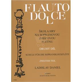 noty Flauto dolce II.diel, Zobcová flauta - Ladislav Daniel