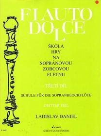 noty Baer Flauto dolce III.diel, Zobcová flauta - Ladislav Daniel