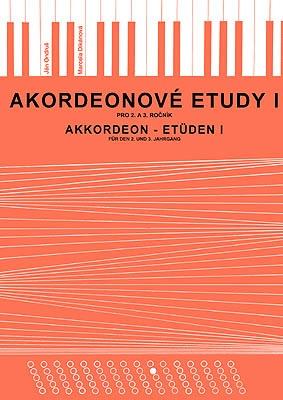 noty Baer Akordeónové etudy I