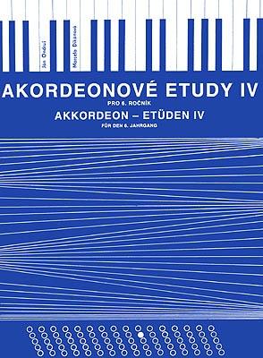 noty Baer Akordeónové etudy IV