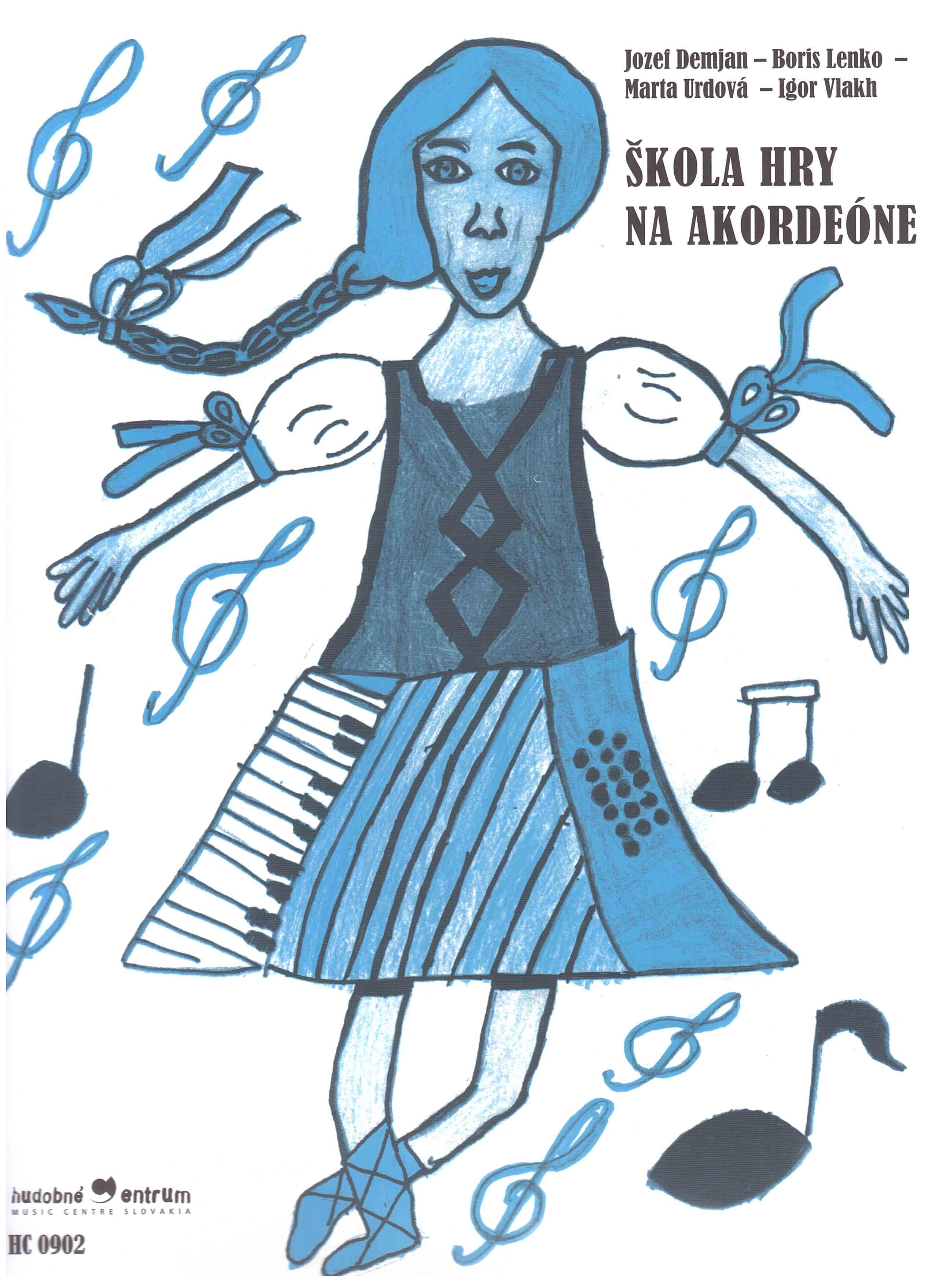 noty Inform Škola hry na akordeóne 2.vydanie