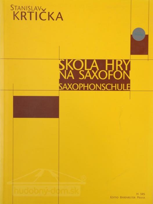 noty Škola hry na saxofón - Krtička